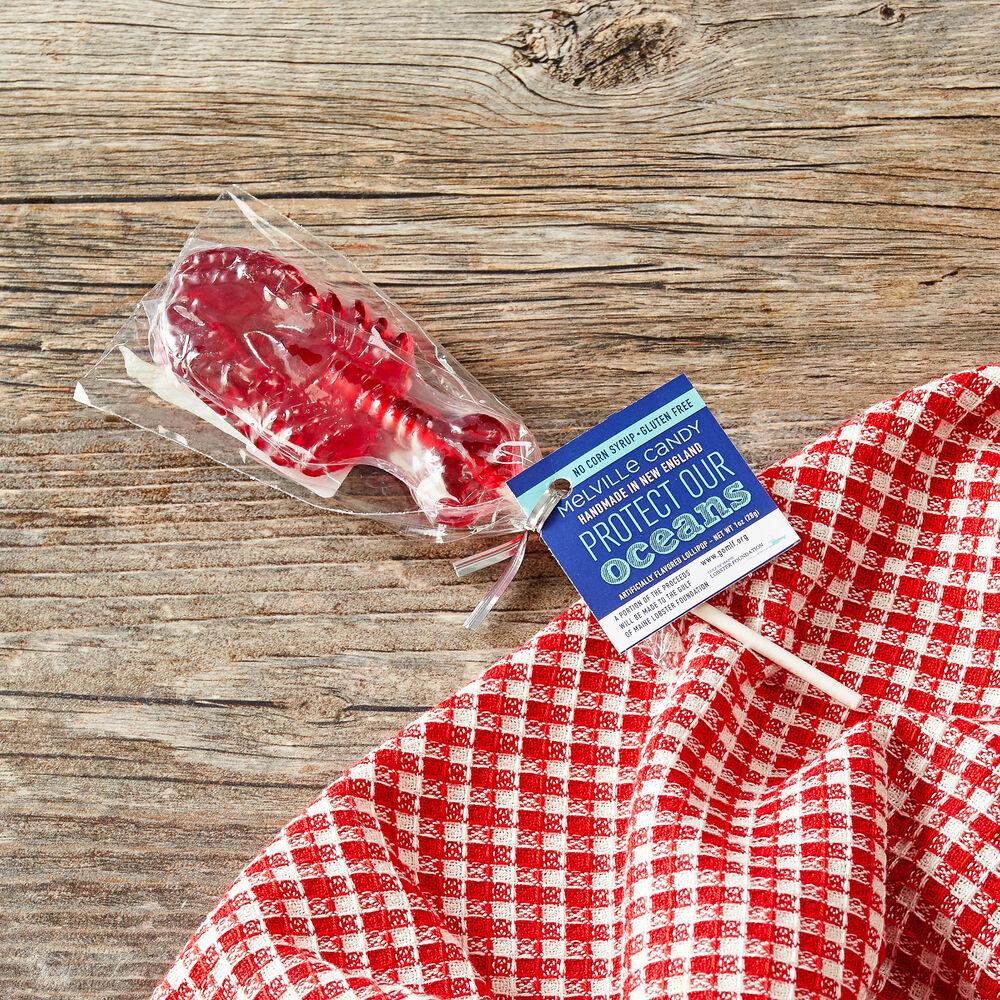 Lobster Strawberry Lollipop image number 0