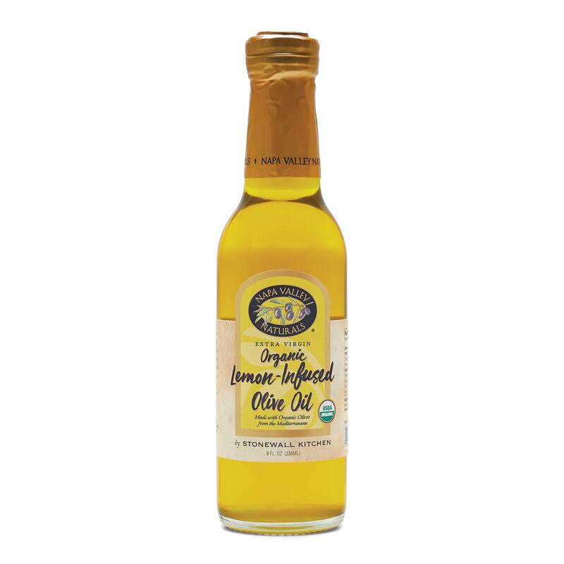 Organic Lemon Infused Extra Virgin Olive Oil