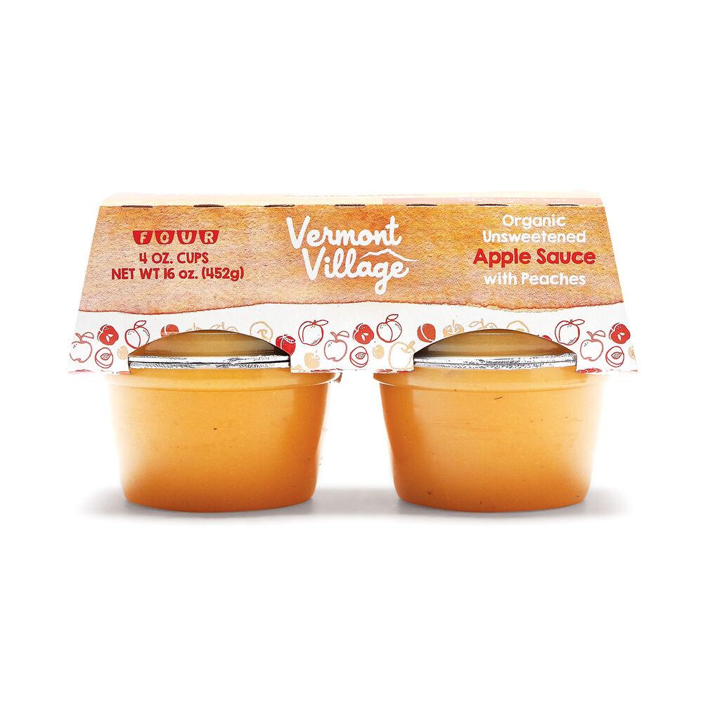 Peach Apple Sauce (Organic) image number 1