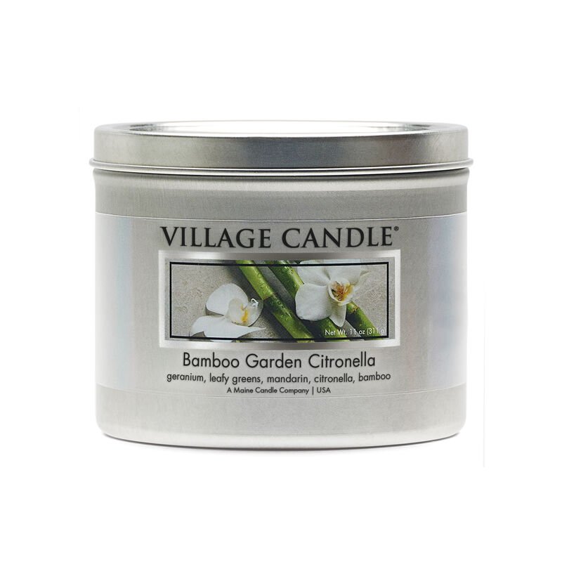 Bamboo Garden Citronella Candle