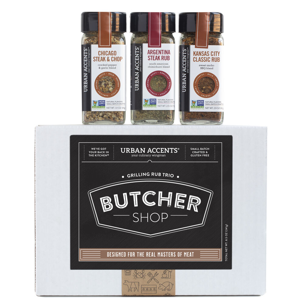 Butcher Shop Meat Lovers Grilling Trio Gift image number 0