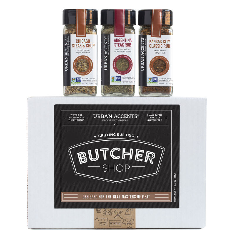 Butcher Shop Meat Lovers Grilling Trio Gift