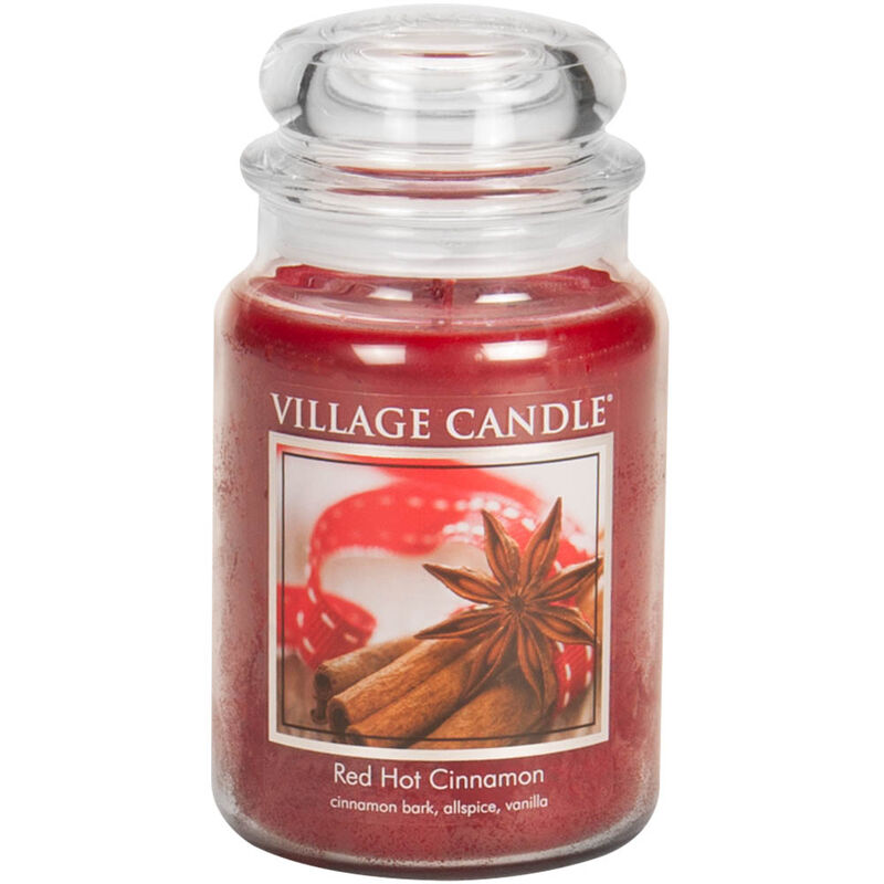 Red Hot Cinnamon Candle