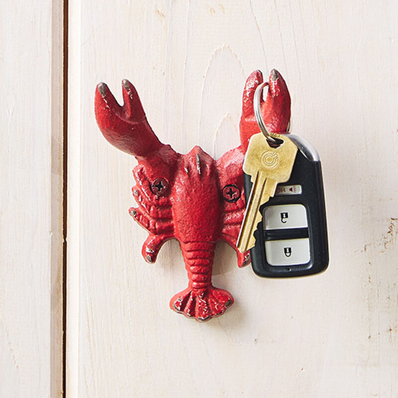Red Lobster Wall Hook