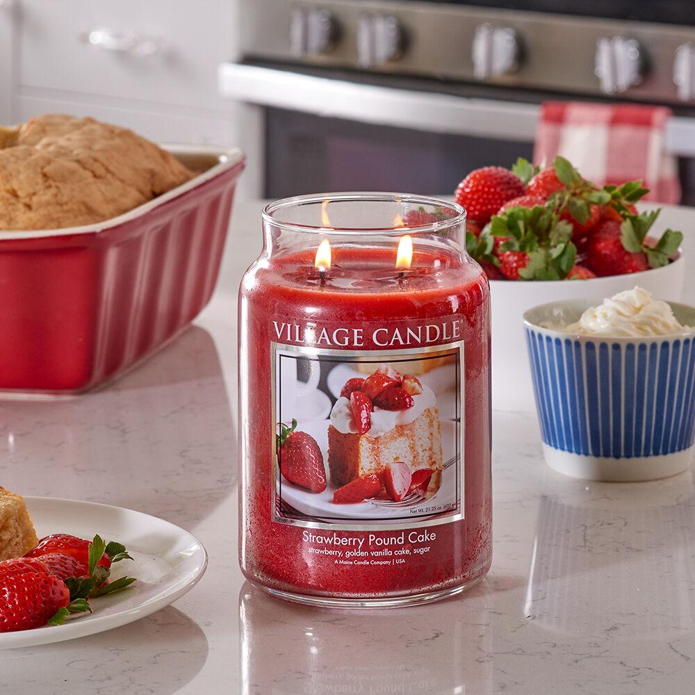 Strawberry Pound Cake Candle image number 5