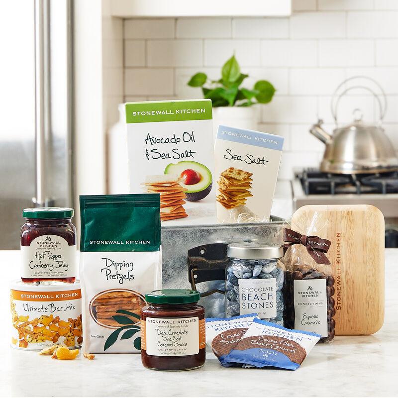 Open & Eat Gift Basket