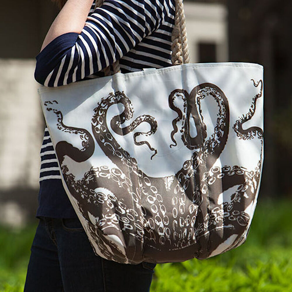 Sea Bags® Octopus Tote image number 0