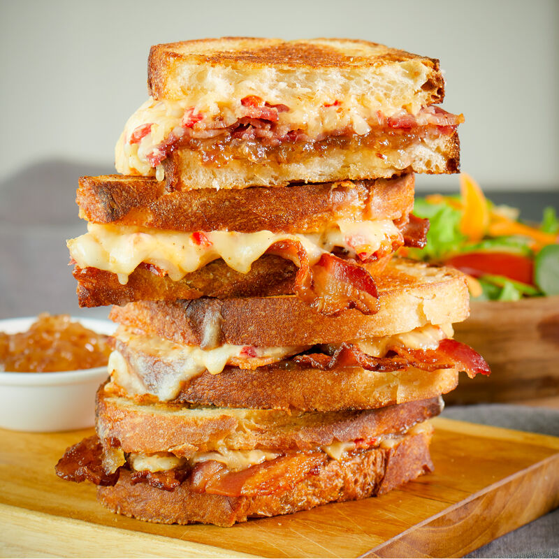Bourbon Bacon Grilled Cheese