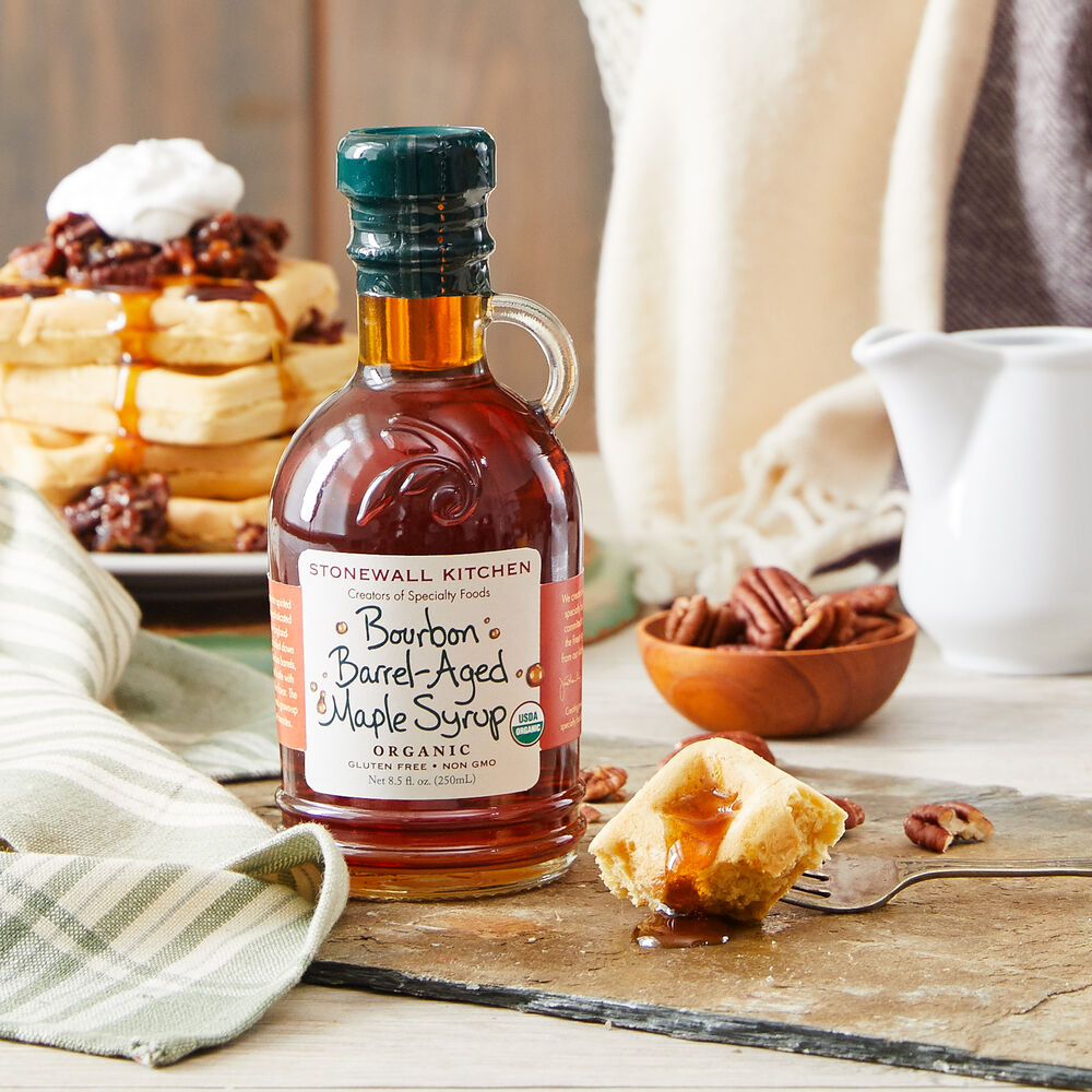 Organic Bourbon Barrel-Aged Maple Syrup image number 1