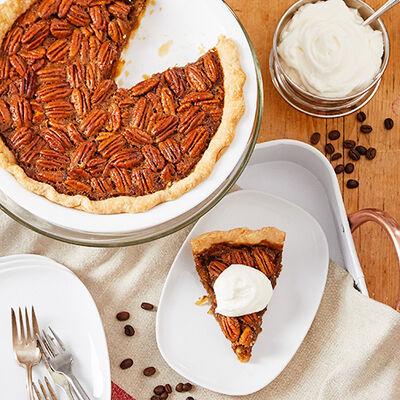 Espresso Pecan Pie