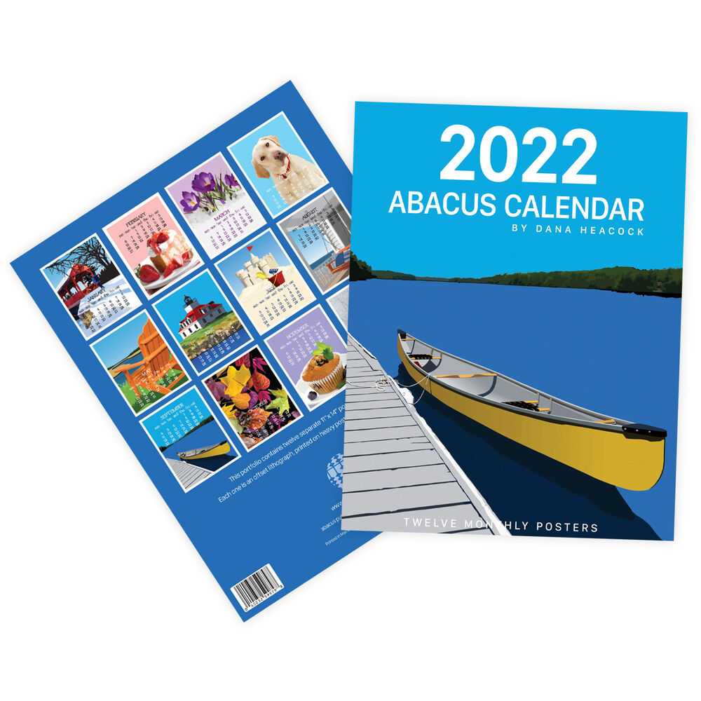 Abacus 2022 Poster Calendar image number 0