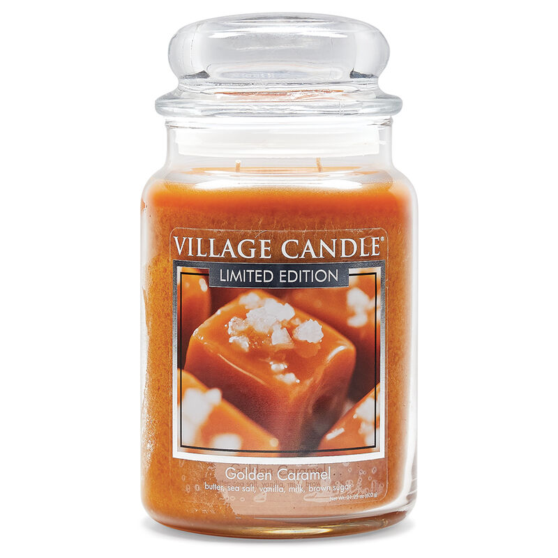 Golden Caramel Candle