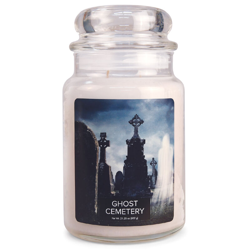Ghost Cemetery Candle