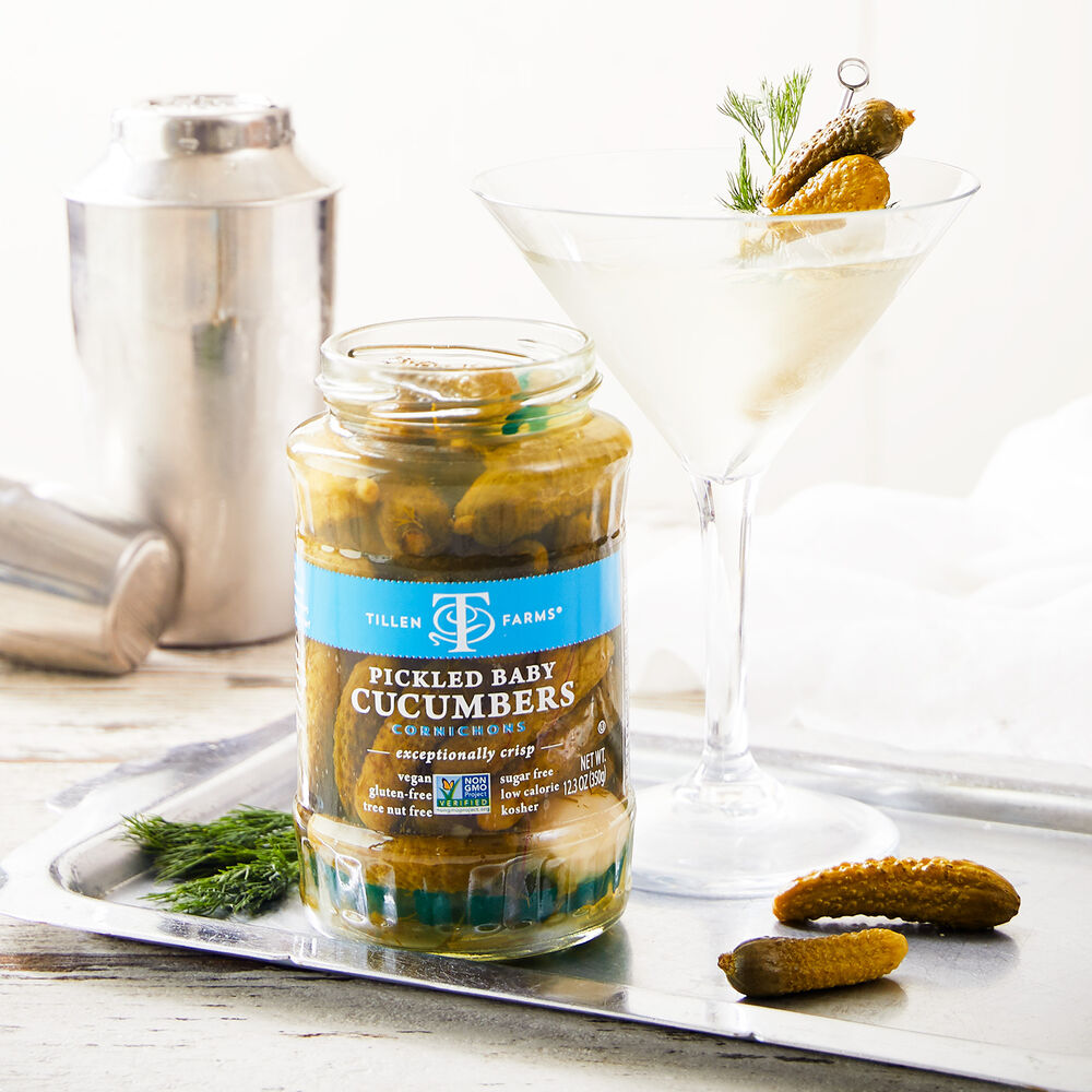 Pickled Baby Cucumbers image number 1