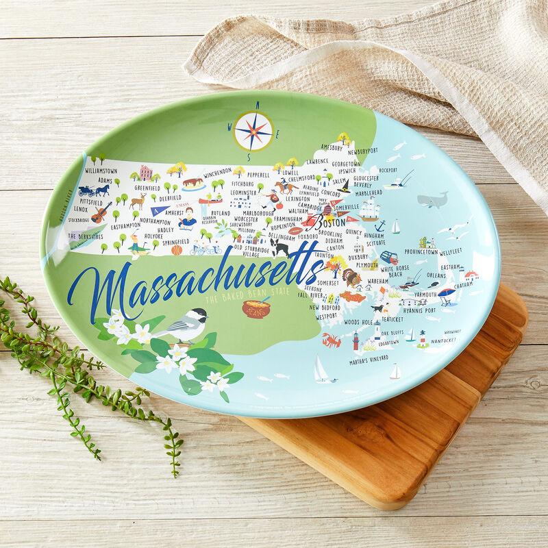 """Massachusetts 16"""" Oval Platter"""