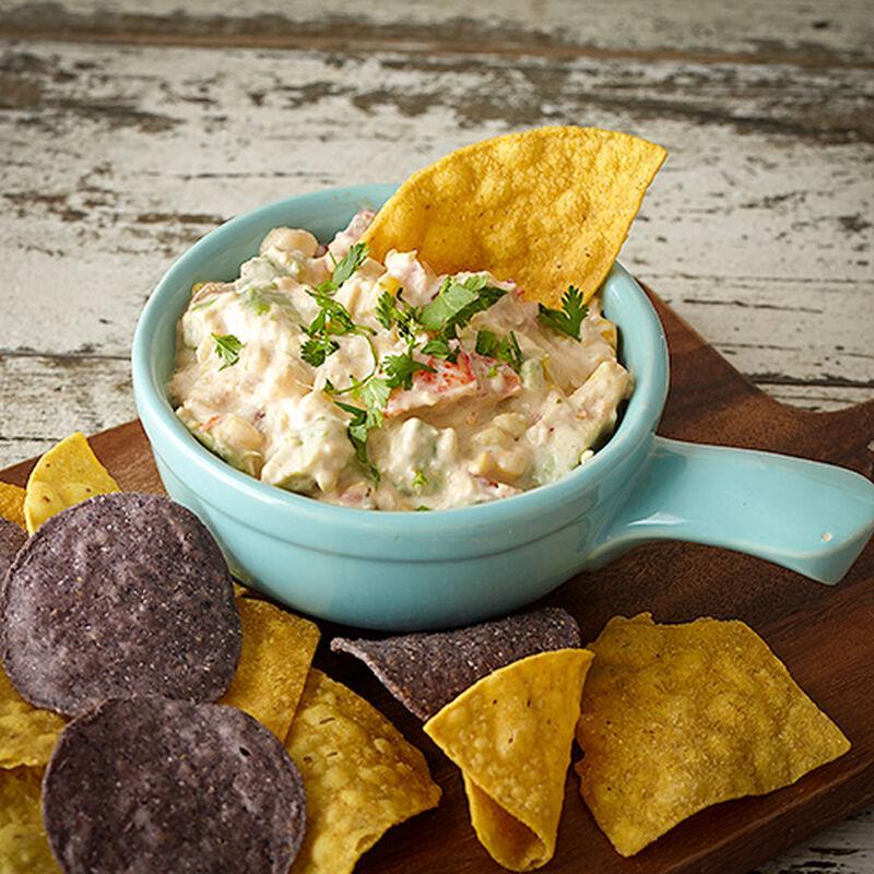 Creamy Corn and Salsa Dip