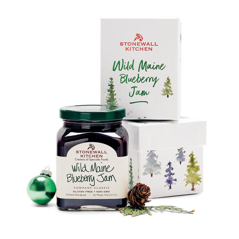 Wild Maine Blueberry Jam Holiday 2021
