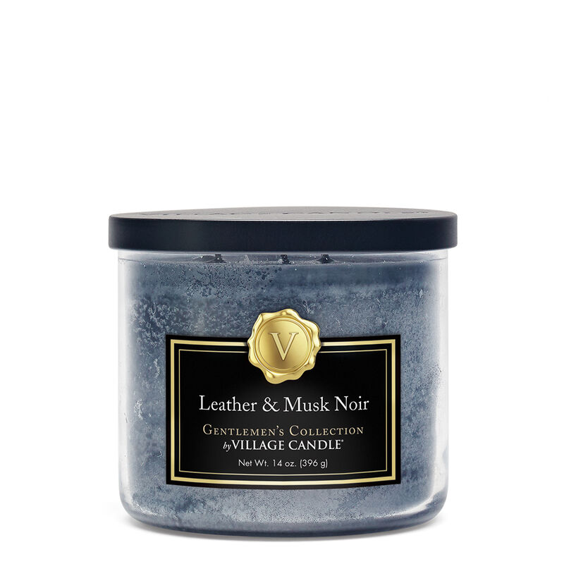 Leather & Musk Noir Candle