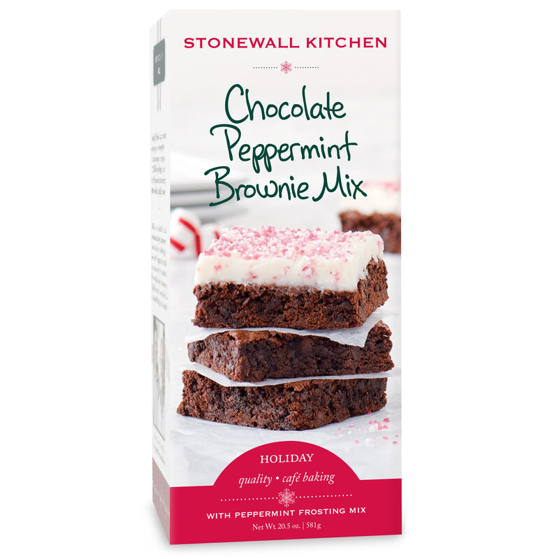 Chocolate Peppermint Brownie Mix