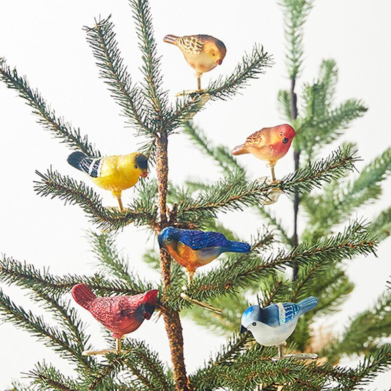 Mini Songbird Ornament (Set of 6)