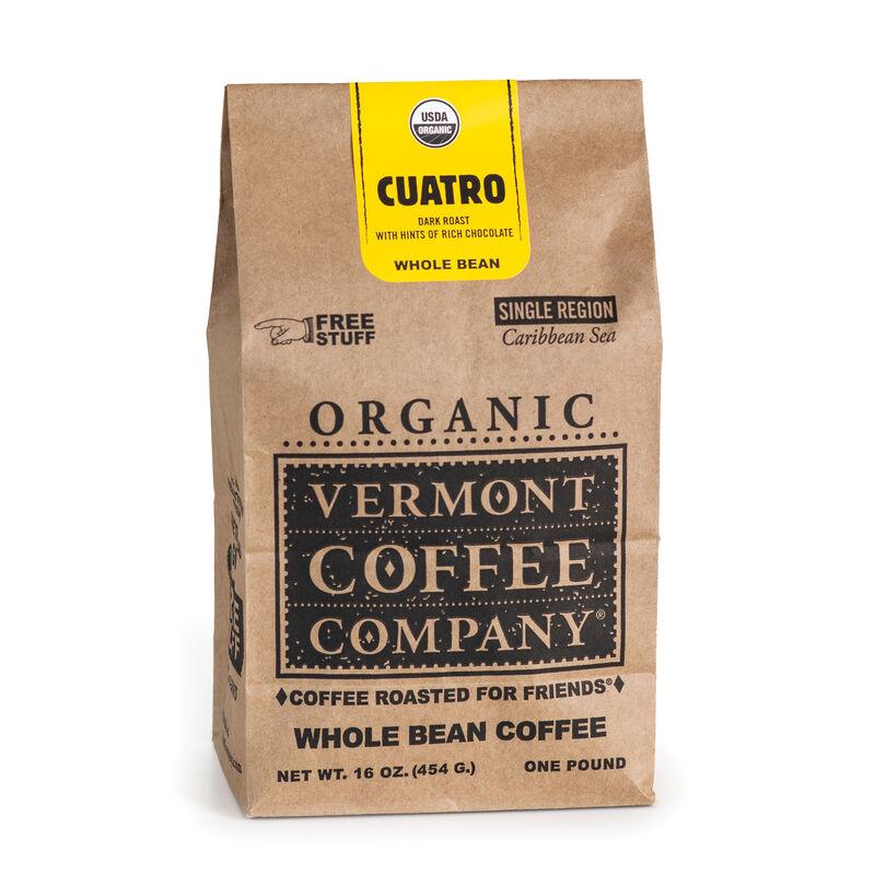 Cuatro Caribbean Whole Bean Coffee 16oz