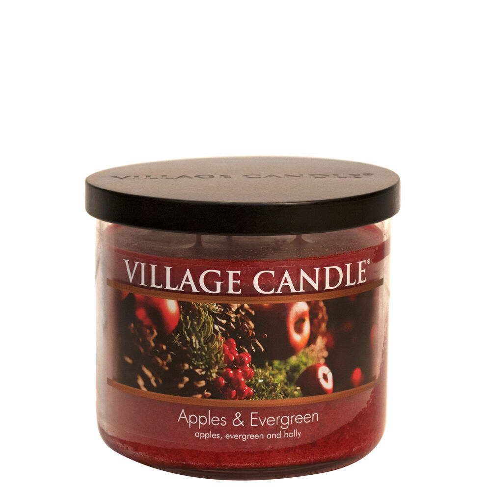 Apples & Evergreen Candle image number 2