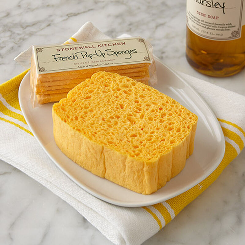 French Pop-Up Sponges