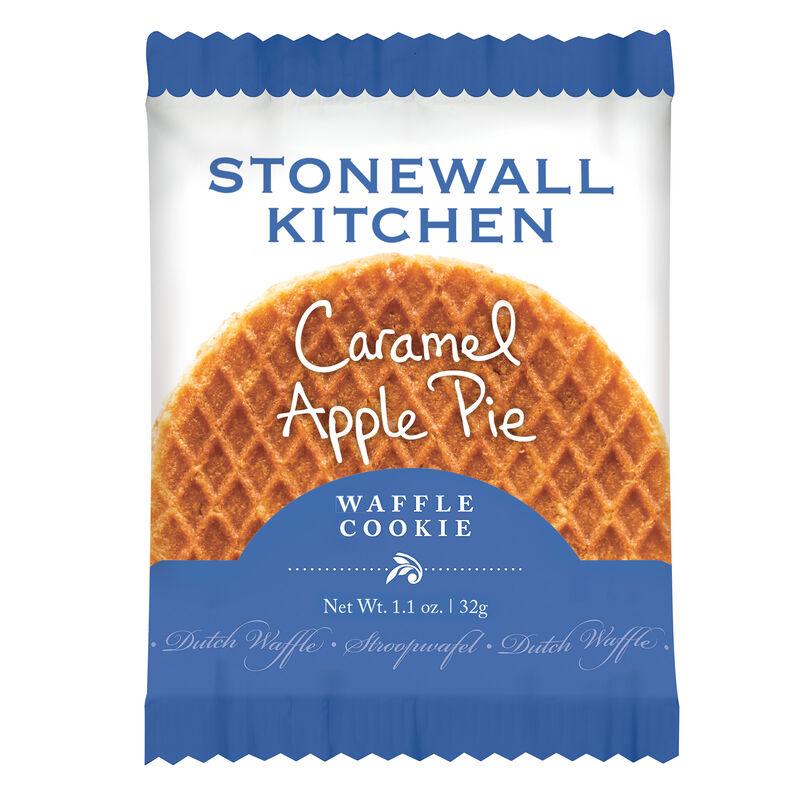 Caramel Apple Pie Dutch Waffle Cookie