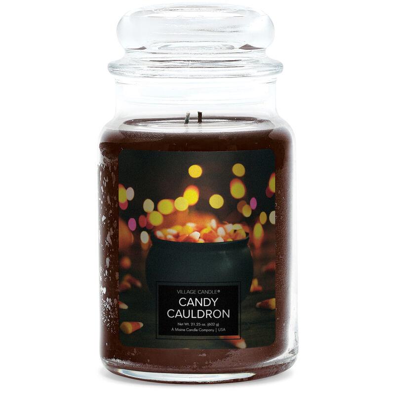 Candy Cauldron Candle