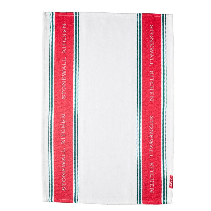 Christmas Stripe Tea Towel