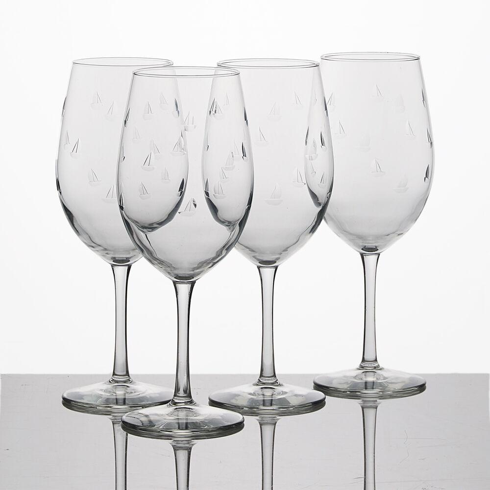 Sailing All-Purpose Wine Glasses (Set of 4) image number 0