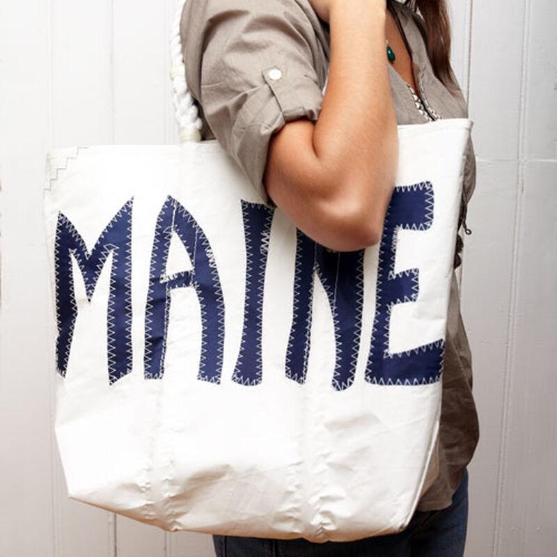 Sea Bags® Navy Maine Tote