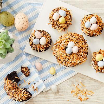 Easter Nest Doughnuts