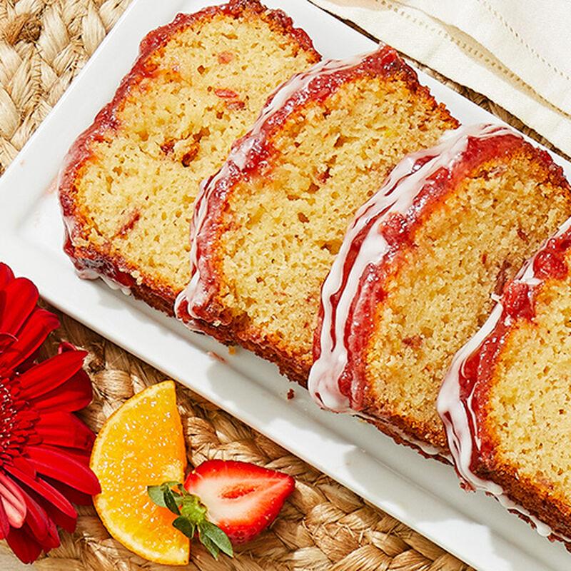 Strawberry Tangerine Marmalade Loaf