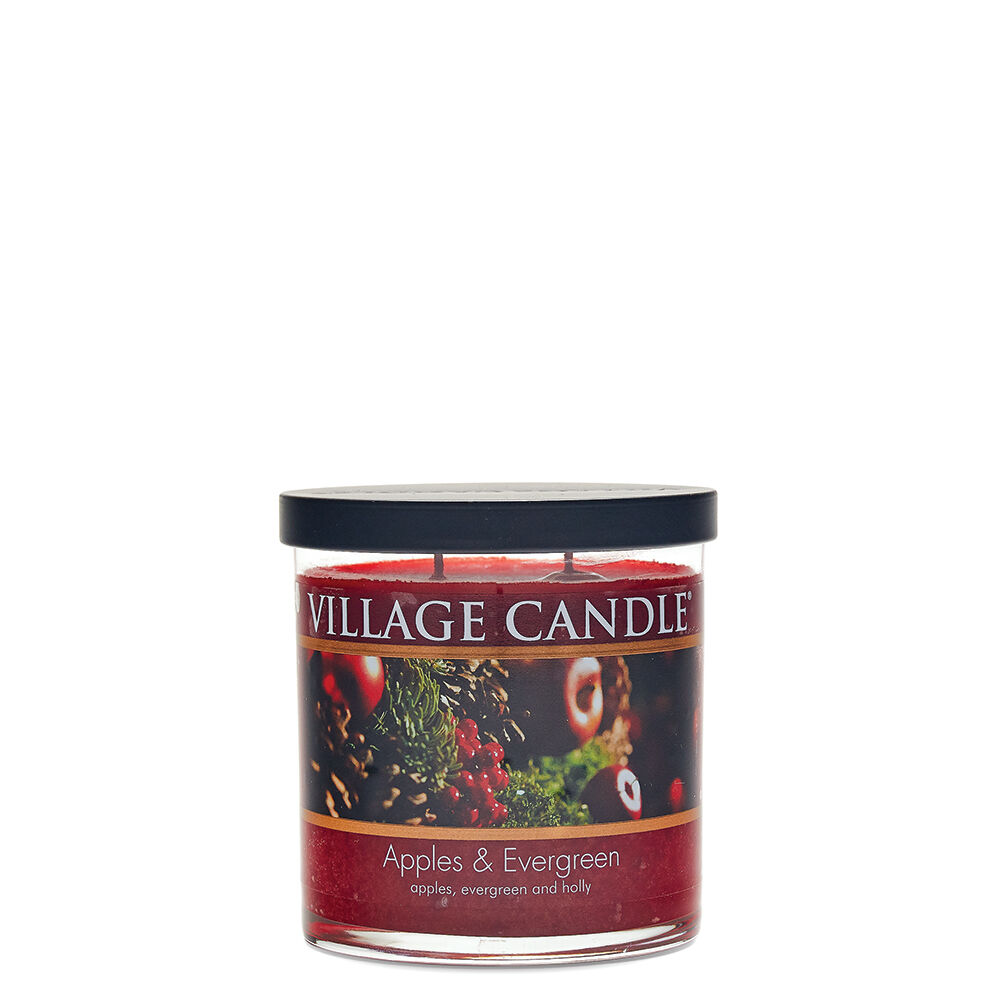 Apples & Evergreen Candle image number 3