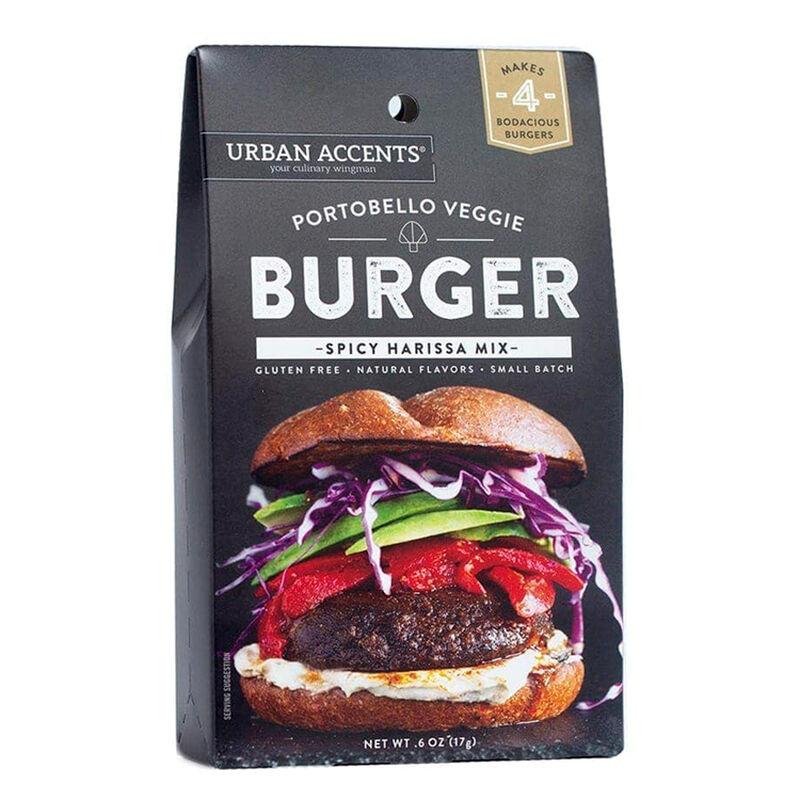 Portobello Veggie Burger