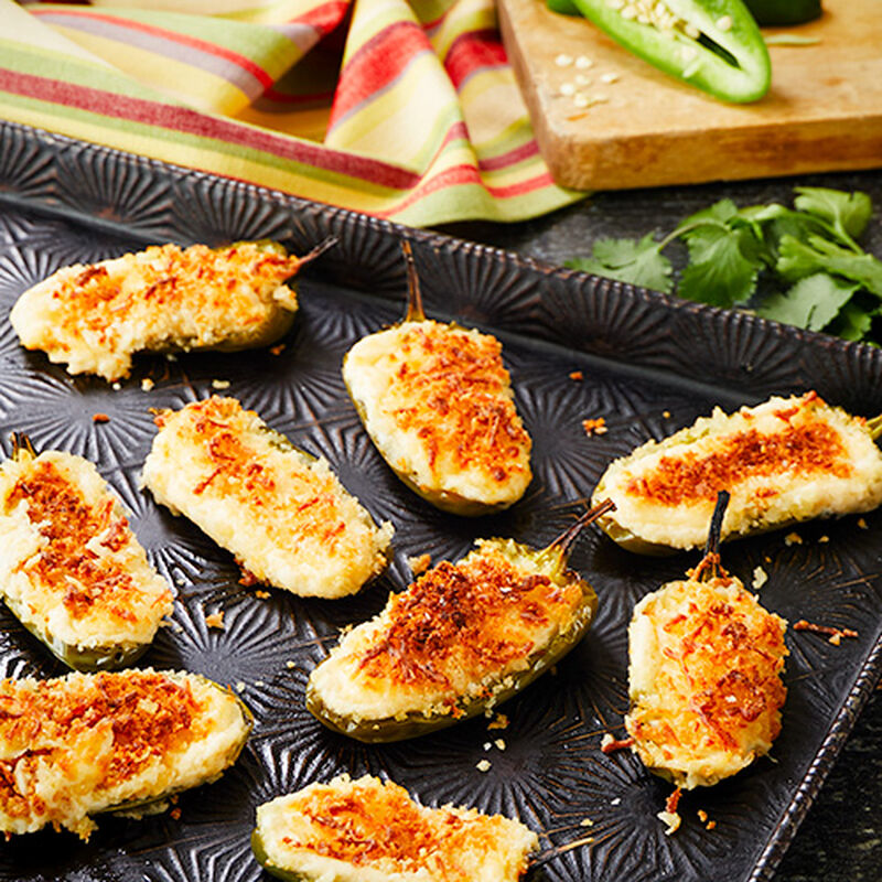 Ghost Pepper Jalapeno Poppers