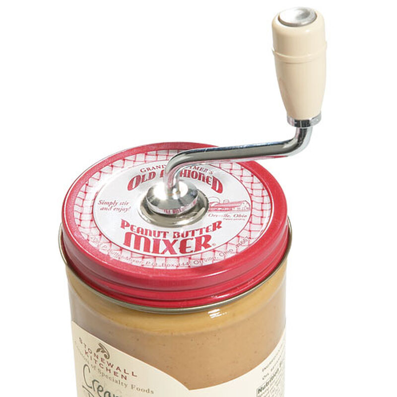Old Fashioned Peanut Butter Mixer