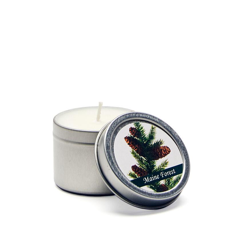 Maine Forest Mini Candle Tin