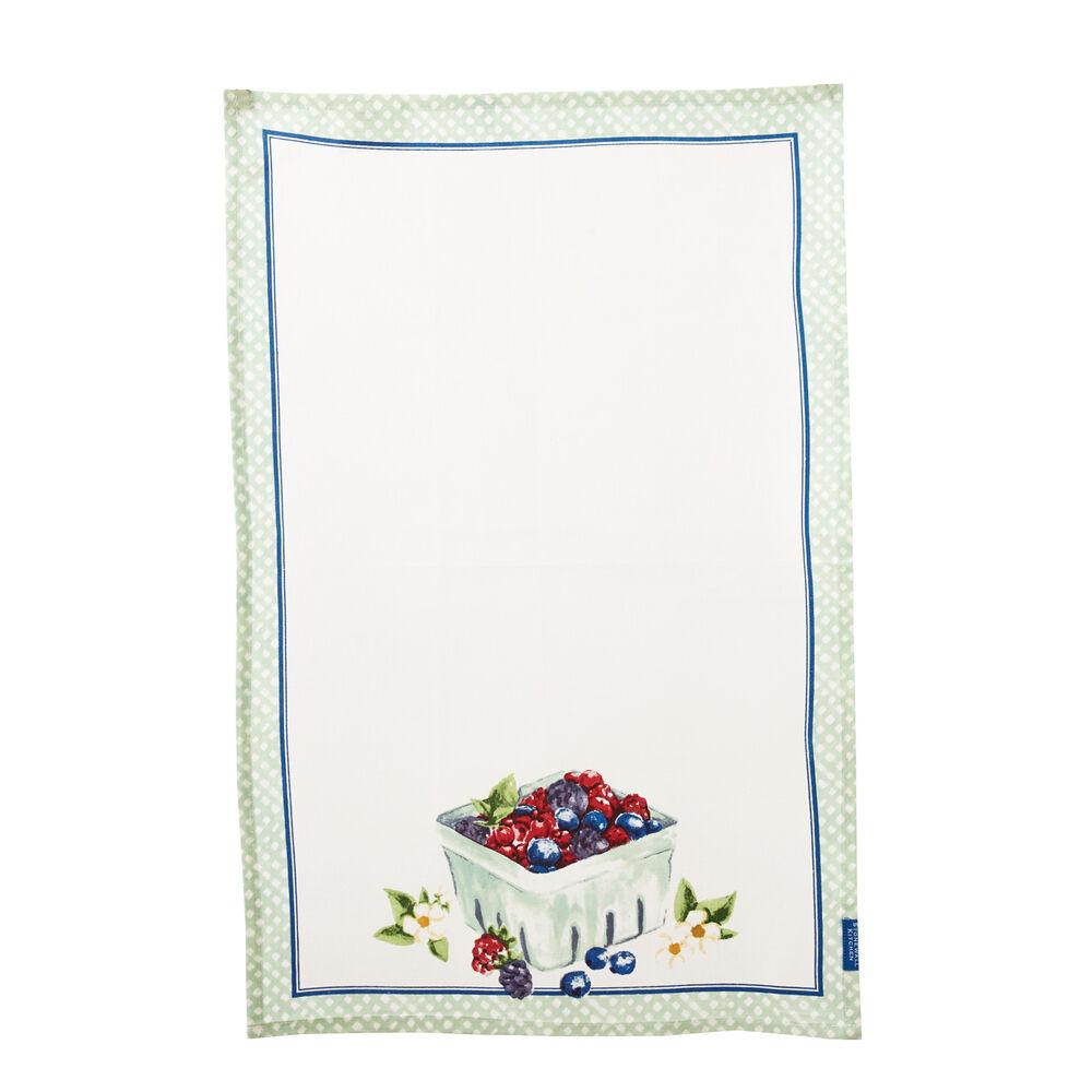 Berry Basket Tea Towel image number 0