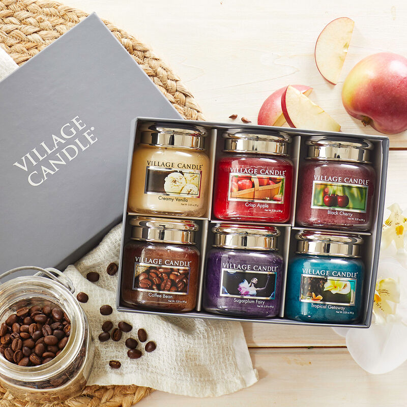 Our Village Candle Fan Favorites Six-Pack