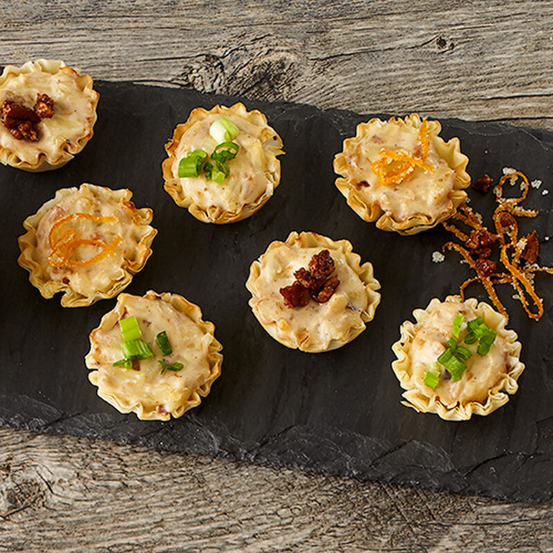 Holiday Chutney Cheese Cups