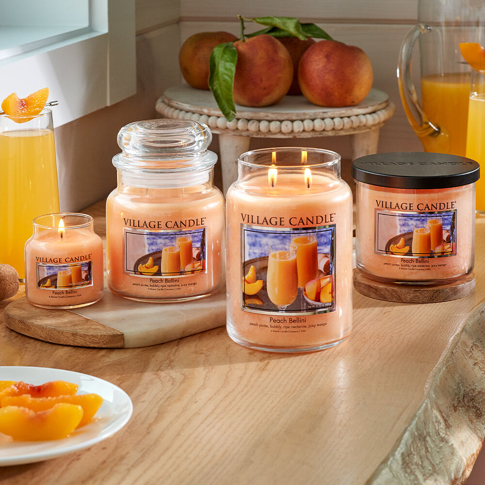 Peach Bellini Candle image number 4