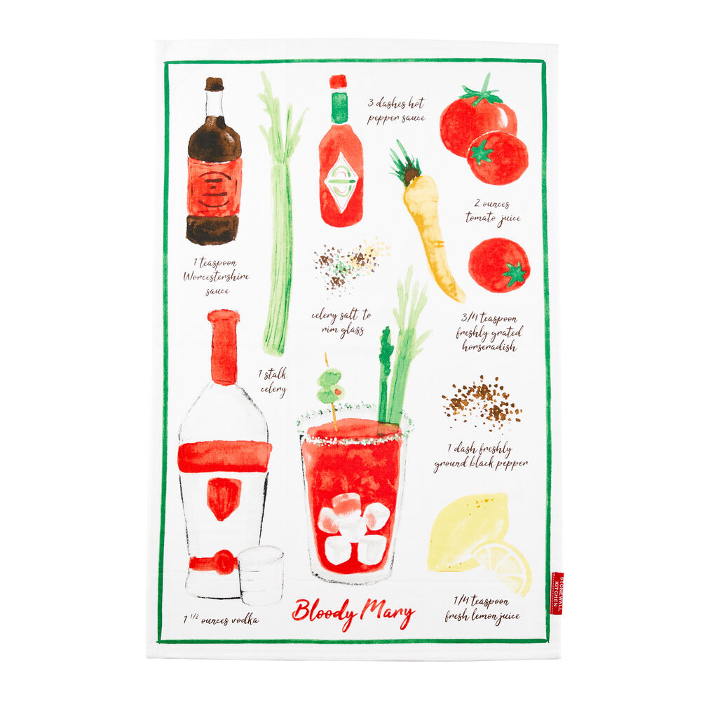Bloody Mary Tea Towel image number 0