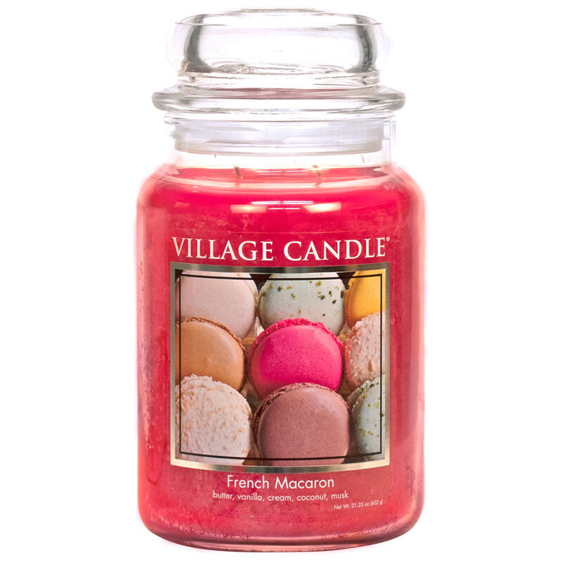 French Macaron Candle