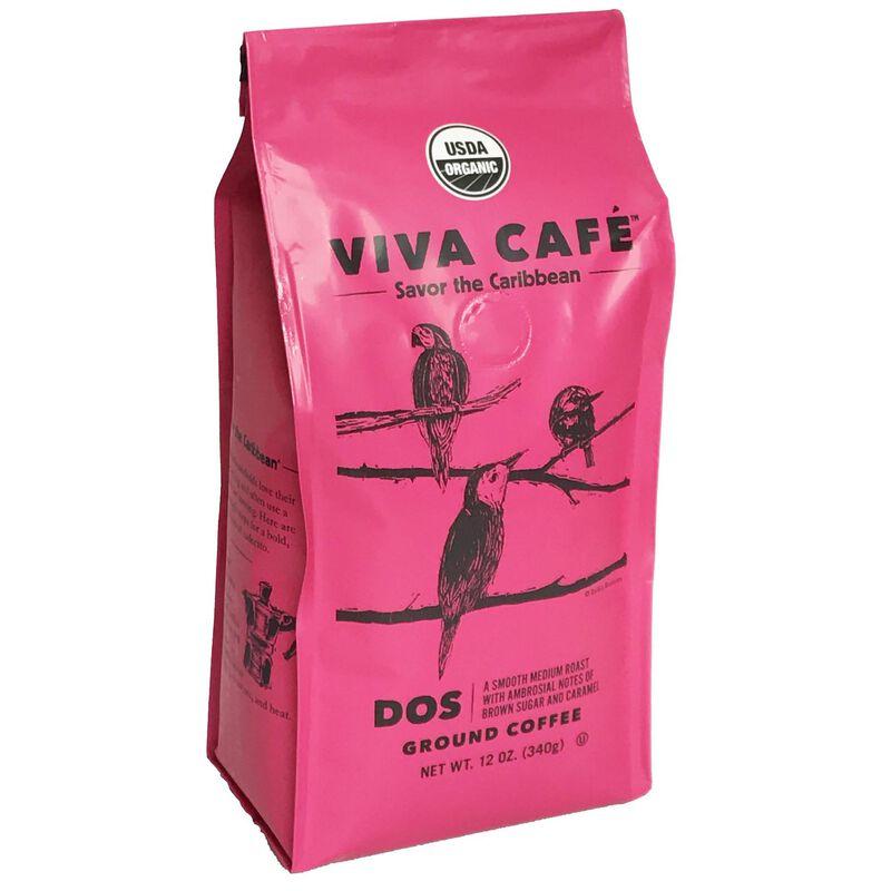 Cafe Dos Ground Coffee 12oz