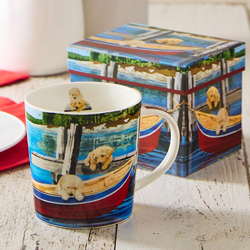 Lakeside Puppy Boxed Mug