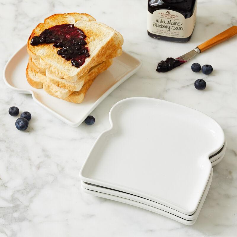 Toast Plates (Set of 4)