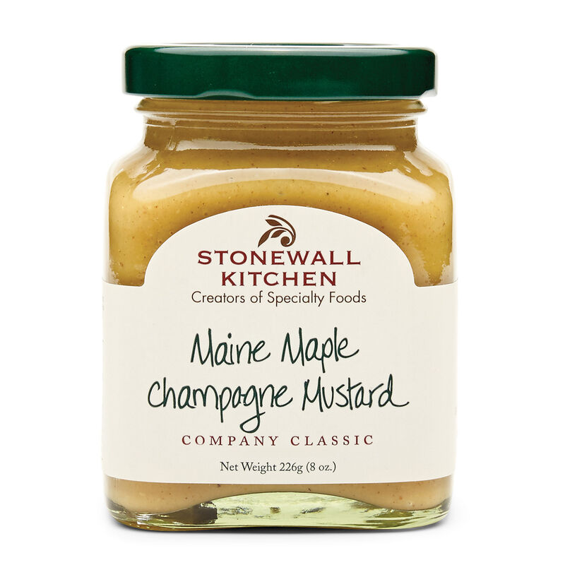 Maine Maple Champagne Mustard