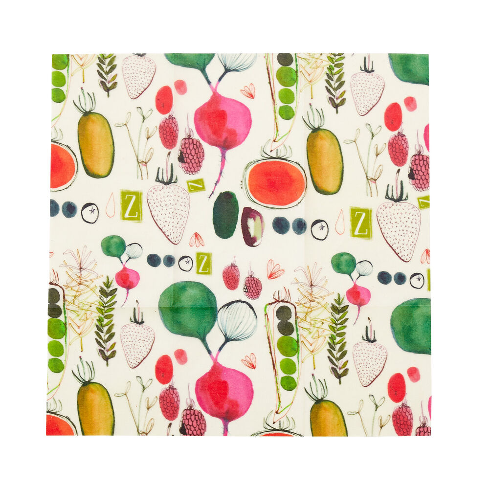 Large Farmers' Market Beeswax Wrap image number 0
